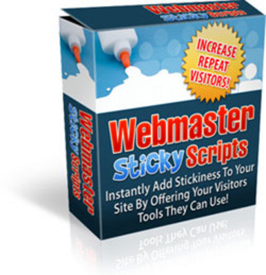Product picture Webmaster Sticky Scripts!